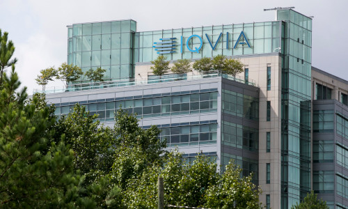 Headquarters of IQVIA, the contract research organization helping manage AstraZeneca's Covid-19 vaccine trial.